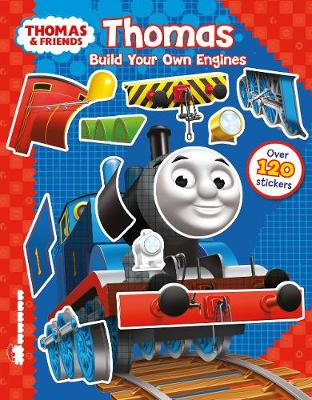 THOMAS BUILD YOUR ENGINES STICKER BOOK