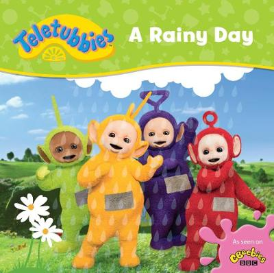 TELETUBBIES A RAINY DAY CASED BOARD