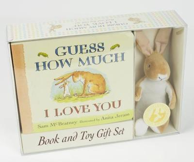 GUESS HOW MUCH I LOVE YOU BOOK & TOY