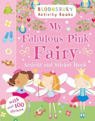 MY FABULOUS PINK FAIRY ACTIVITY AND STIC