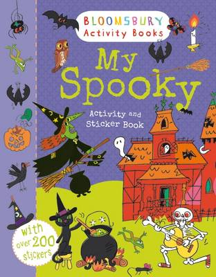 MY SPOOKY ACTIVITY AND STICKER BOOK