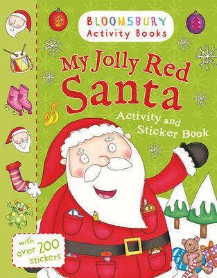 MY JOLLY RED SANTA ACTIVITY AND STICKER