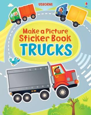 MAKE A PICTURE STICKER BOOK: TRUCKS