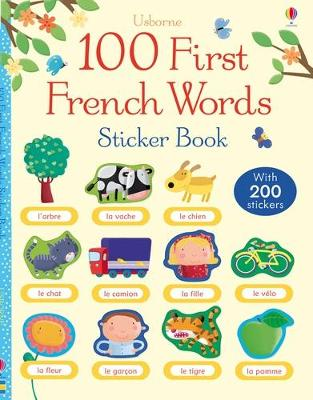 100 First Words in French Sticker Book