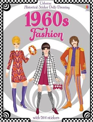 HISTORICAL 1960S FASHION STICKER DOLLY D