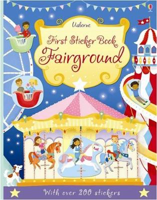FIRST STICKER BOOK FAIRGROUND
