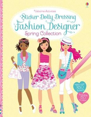 STICKER DOLLY DRESSING FASHION DESIGNER