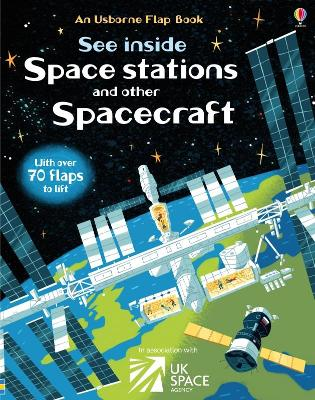SEE INSIDE SPACE STATIONS & OTHER SPACEC
