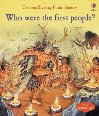 WHO WERE THE FIRST PEOPLE?