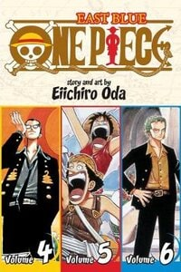 One Piece:  East Blue 4-5-6, Vol. 2 (Omnibus Edition)|3-in-1 Edition