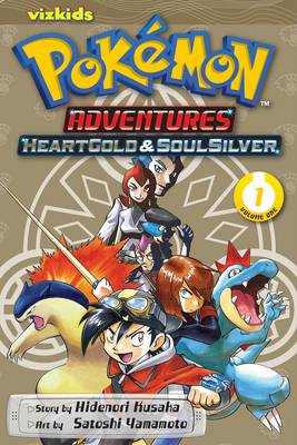 Pokemon Adventures Heart Gold Soul Silver 01