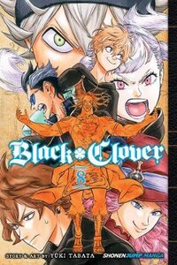 BLACK CLOVER VOL. 8