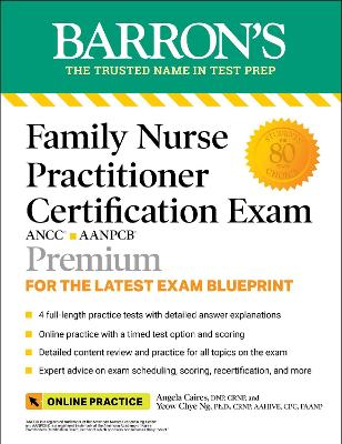Barron's Family Nurse Practitioner Certification Exam with Online Tests