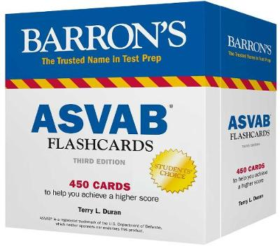 BARRONS ASVAB FLASH CARDS