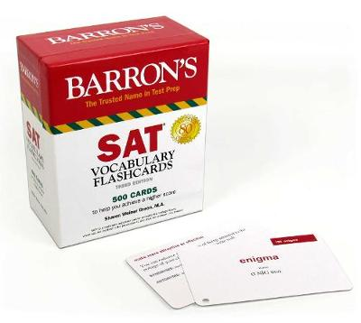 BARRONS SAT VOCABULARY FLASH CARDS