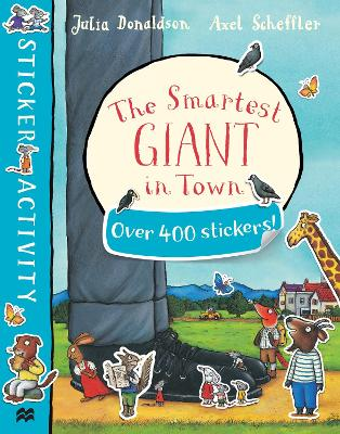 SMARTEST GIANT IN TOWN STICKER BOOK PB