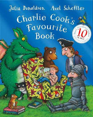 CHARLIE COOKS FAVOURITE BOOK 10TH PACK