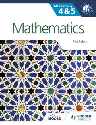 MATHEMATICS FOR THE IB MYP 4 & 5: BY CON