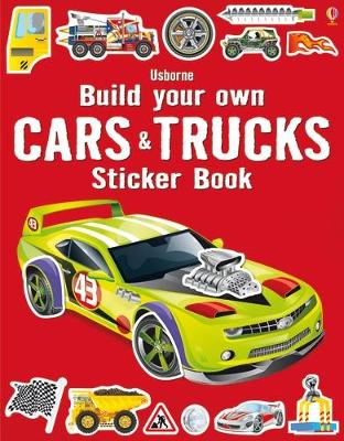 BUILD YOUR OWN CARS AND TRUCKS STICKER