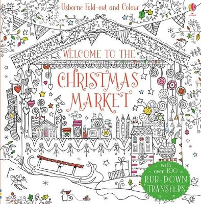 THE FOLD-OUT CHRISTMAS MARKET TO COLOUR