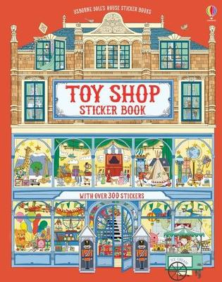 DOLLS HOUSE STICKER BOOK TOYSHOP