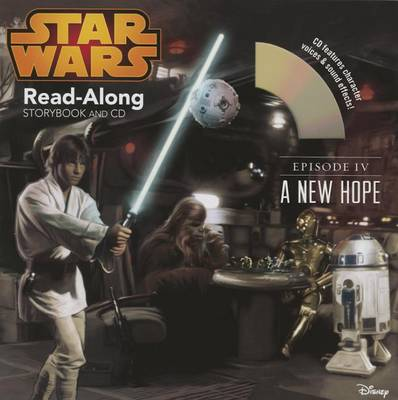 STAR WARS: A NEW HOPE READ-ALONG STORYBO
