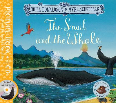 THE SNAIL AND THE WHALE: BOOK AND CD PAC