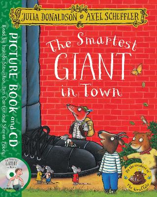 THE SMARTEST GIANT IN TOWN: BOOK AND CD