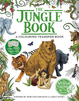 JUNGLE BOOK: A COLOURING TRANSFER BOOK