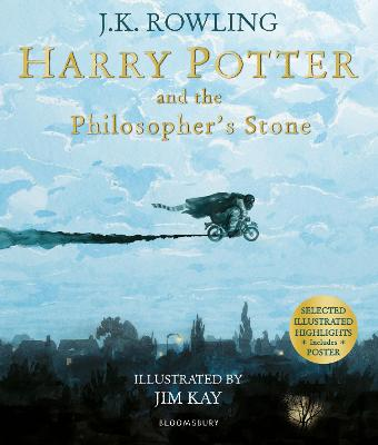 HARRY POTTER & PHILOSOPHERS STONE (ILLU