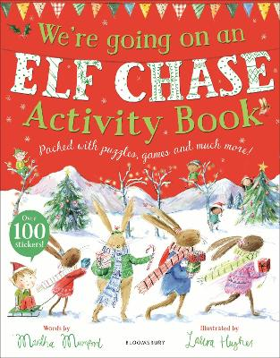 WERE GOING ON AN ELF CHASE ACTIVITY BK