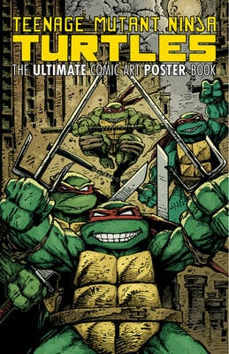 TMNT ULTIMATE COMIC ART TP