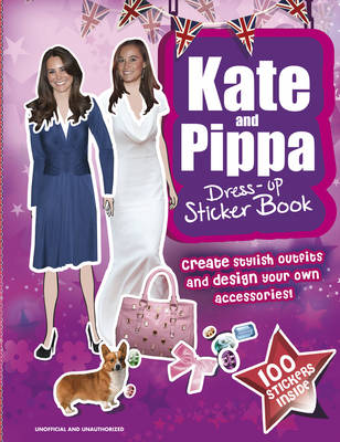 Kate & Pippa Middleton Dress-up Sticker Book