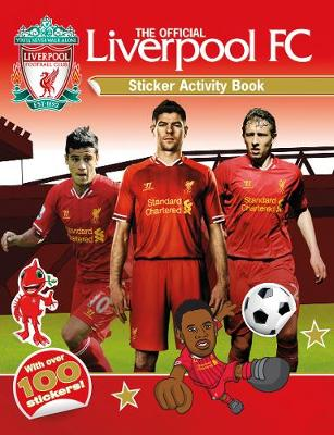 OFFICIAL LIVERPOOL FC STICKER ACTIVITY B