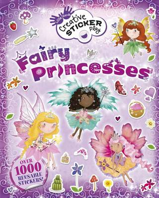 LITTLE HANDS CREATIVE STICKER PLAY FAIRY