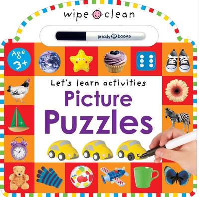 WIPE CLEAN LEARNING PICTURE PUZZLES BB
