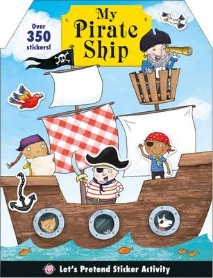PIRATE SHIP: LETS PRETEND STICKER PB