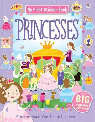 MY FIRST STICKER BOOK PRINCESSES