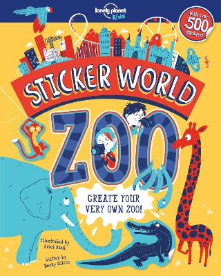STICKER WORLD - ZOO