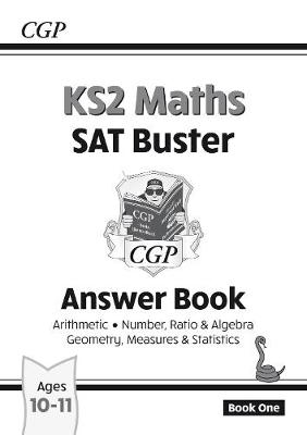 KS2 MATHS SAT BUSTER ANSWER BOOK (NUMBER