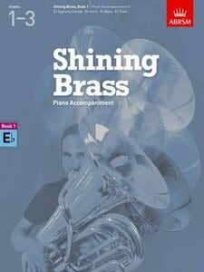 SHINING BRASS, BOOK 1, PIANO ACCOMPANIME