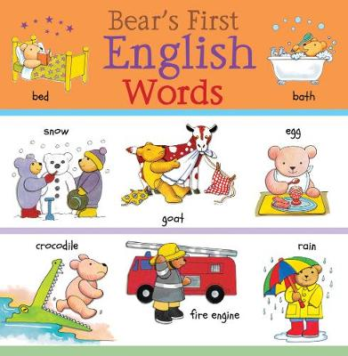 Bear's First English Words
