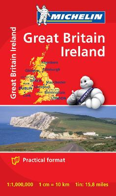 GREAT BRITAIN & IRELAND MINI MINI MAP
