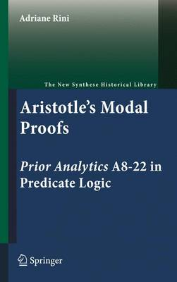 ARISTOTLES MODAL PROOFS