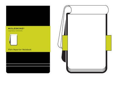 Σημειωματάριο Moleskine Reporter Plain Black - Large